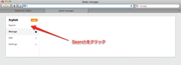 Styles manager