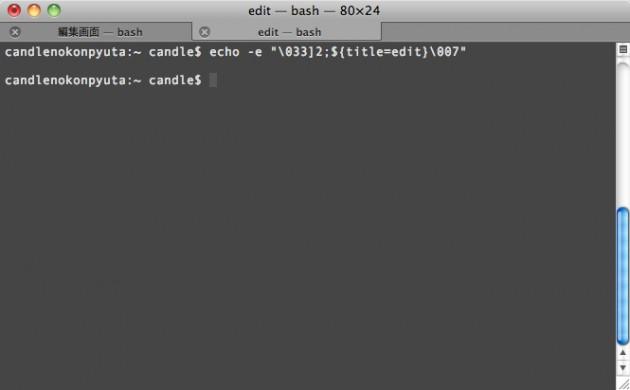 edit — bash — 80×24